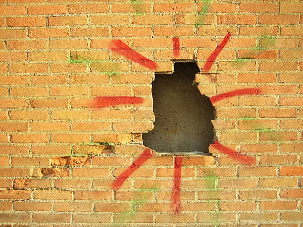 hole in the wall – Foto