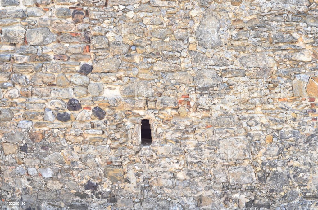 NORTE, BRAZIL - September 21, 2017 - Hole in wall of the \'Fortaleza...