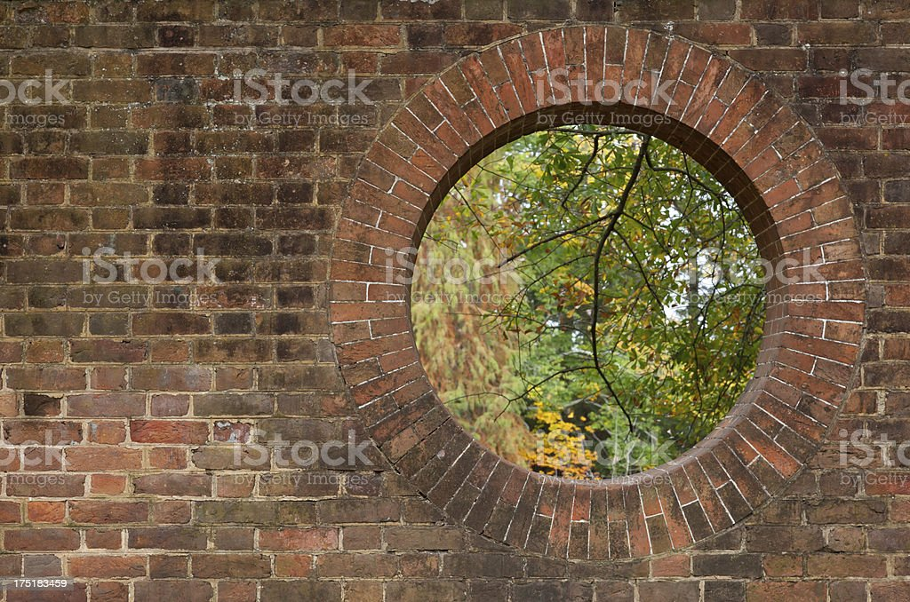 This image of a hole in a brick wall offers some interesting creative...