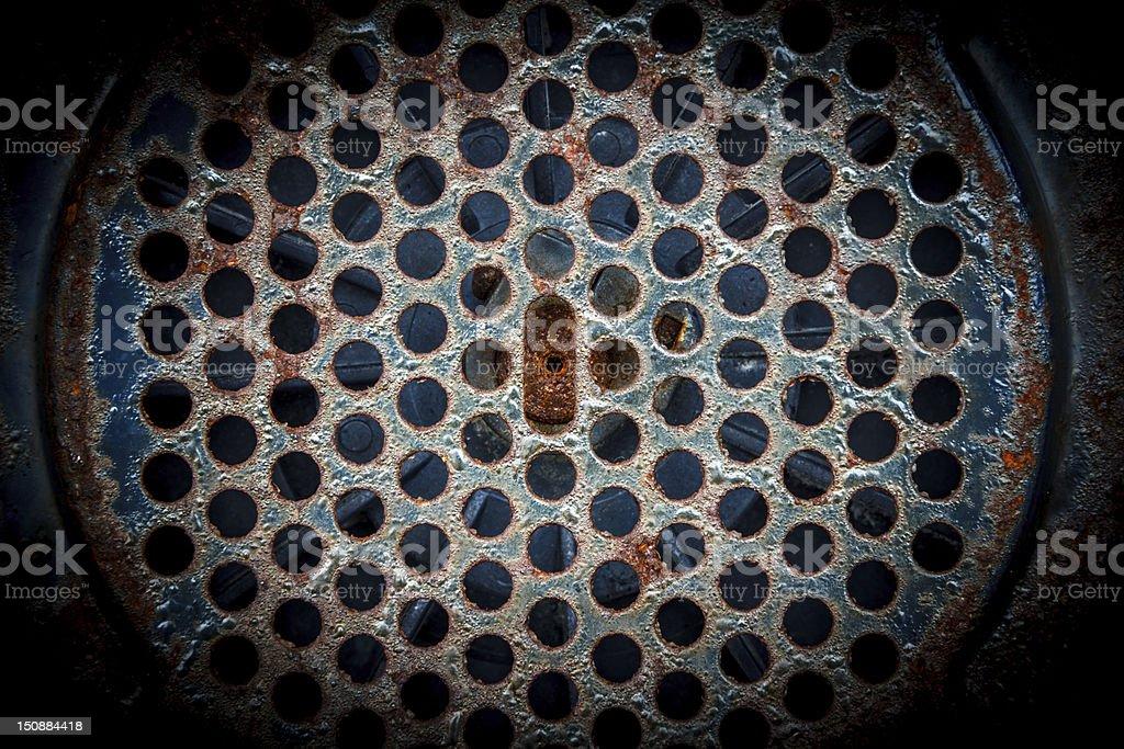 Hole Pattern royalty-free stock photo