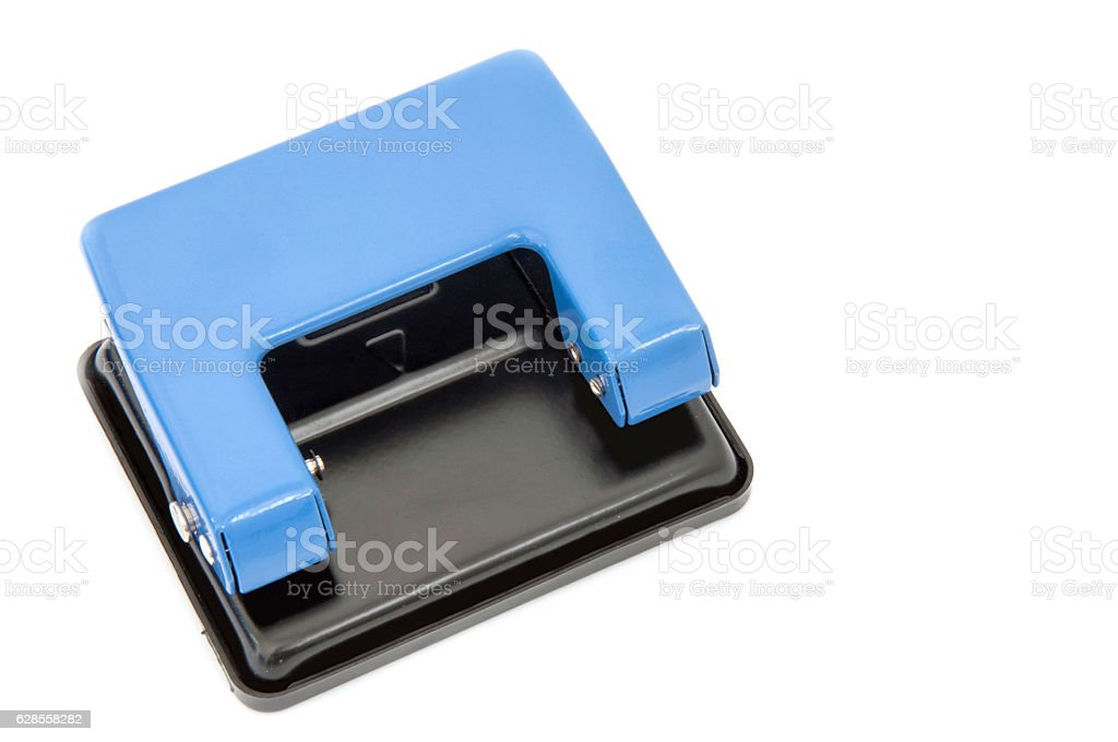 Hole punch stock photo