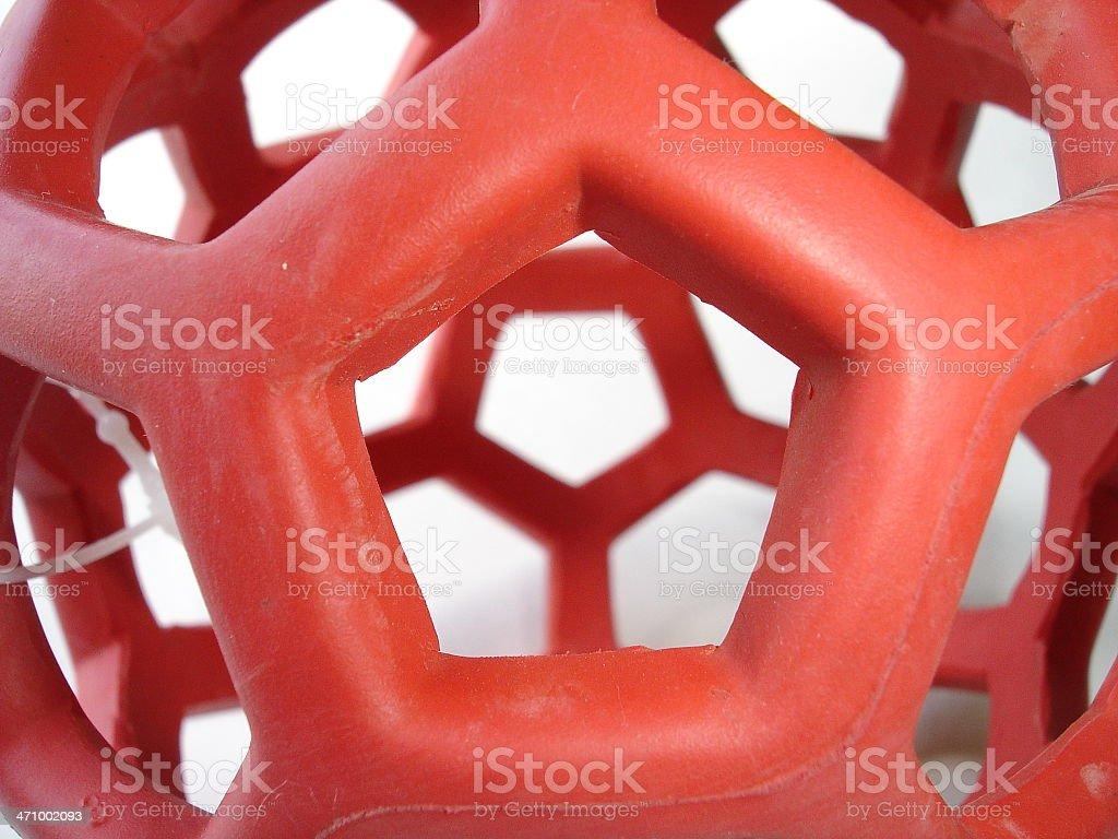 Holey Sphere royalty-free stock photo