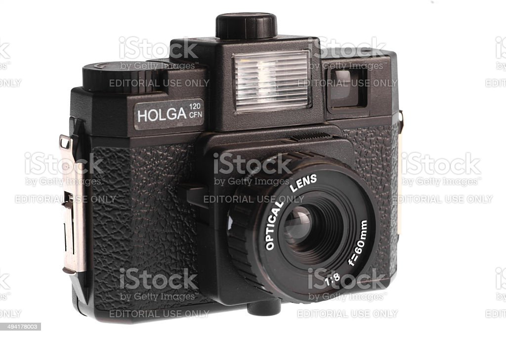 Holga camera stock photo