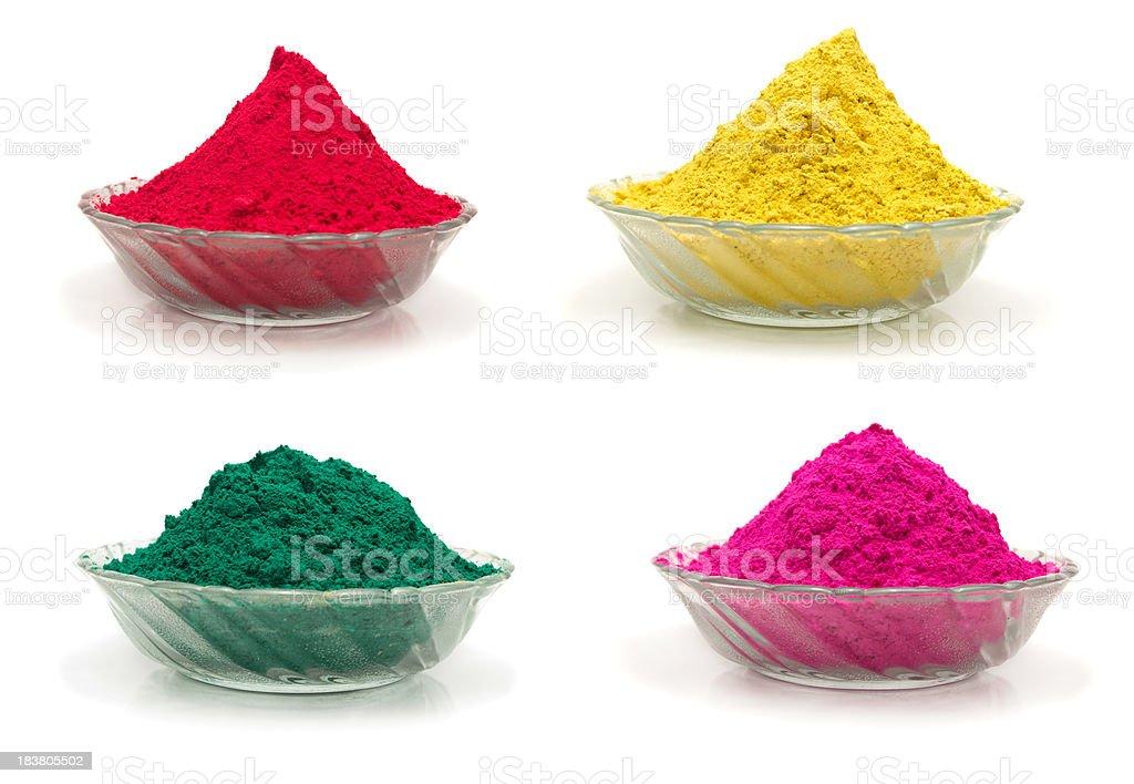 Holi Colors royalty-free stock photo