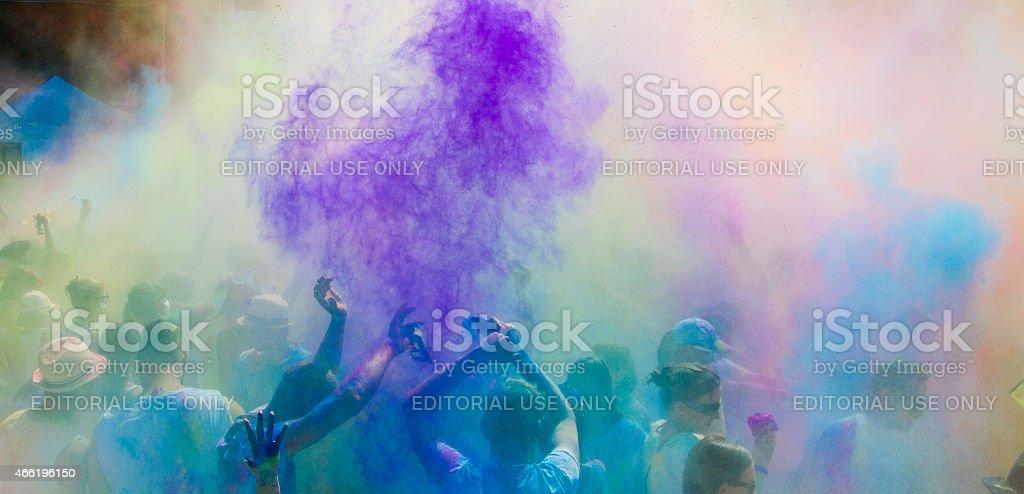 Holi Festival of Colors stock photo