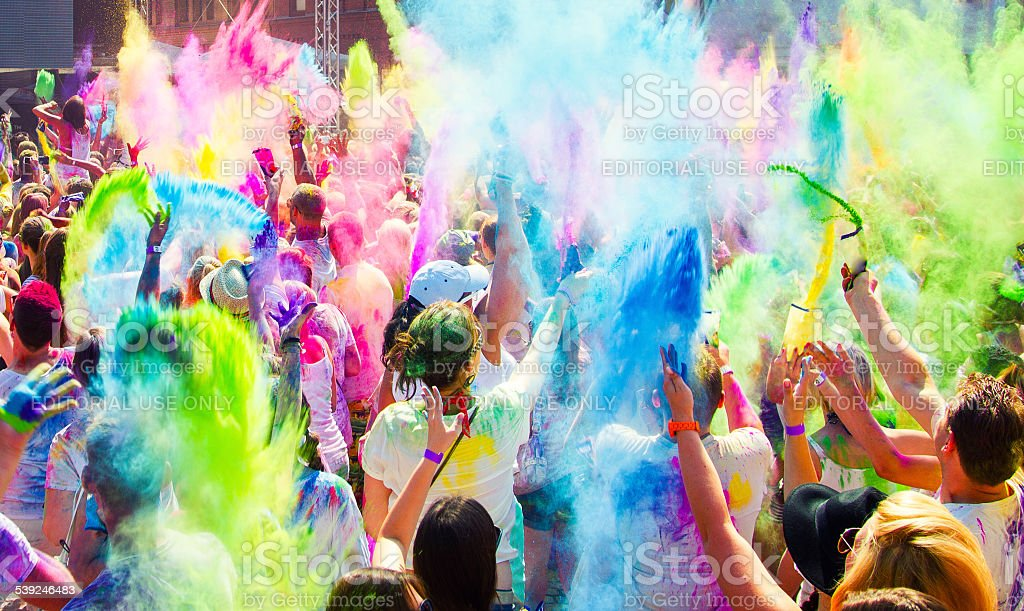 Holi Festival der Farben – Foto