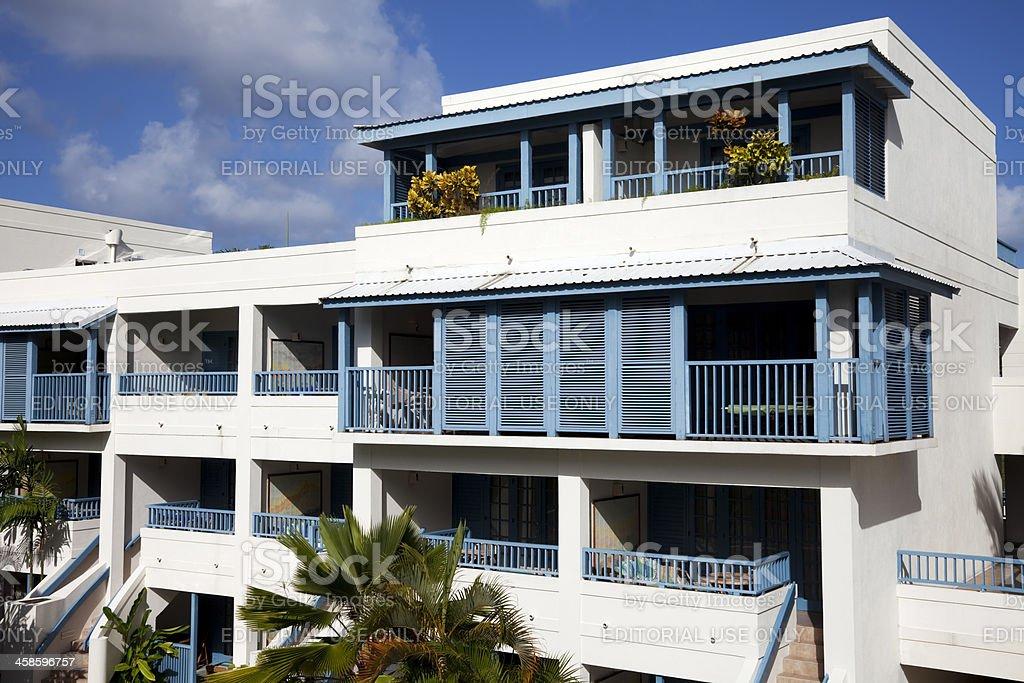 Holiday apartments royalty-free stock photo