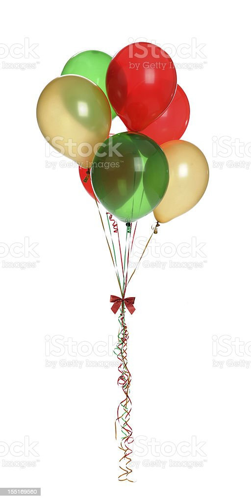 Holiday Balloons stock photo