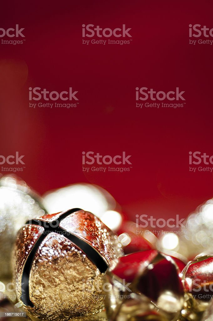 Holiday bells royalty-free stock photo