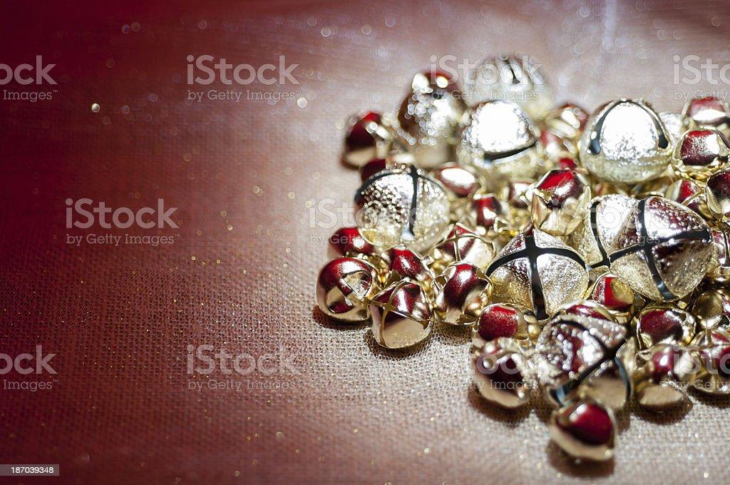 Holiday bells royalty-free stock photo