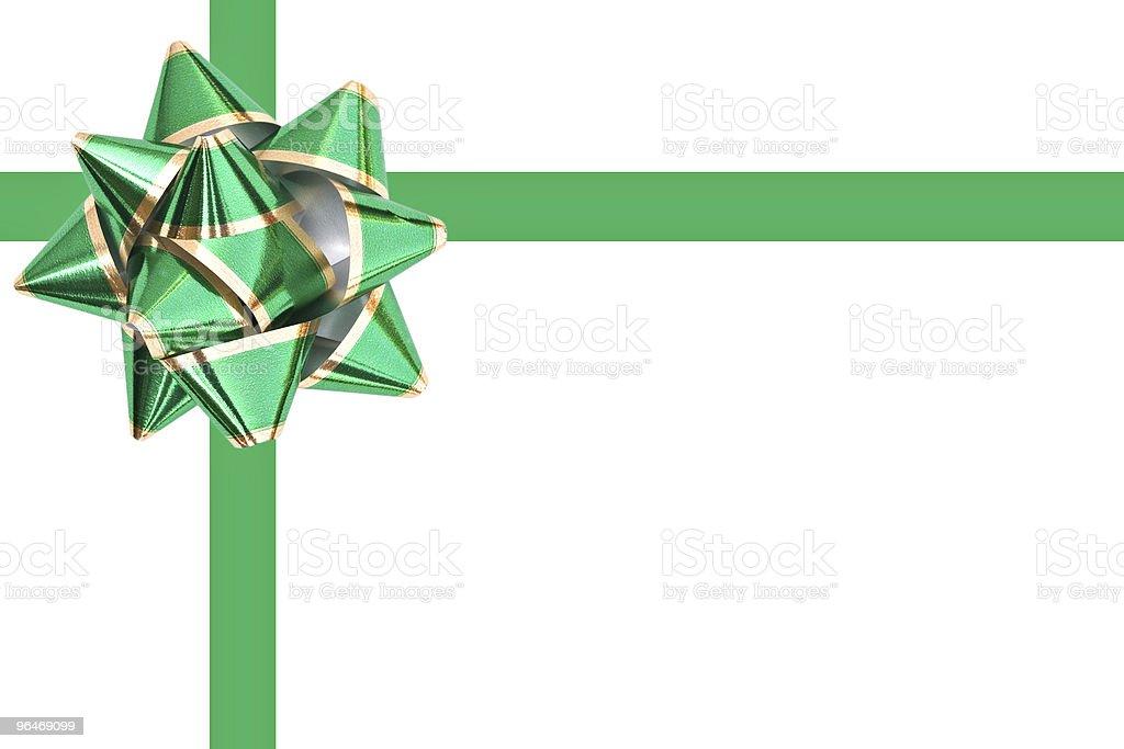Holiday bow royalty-free stock photo
