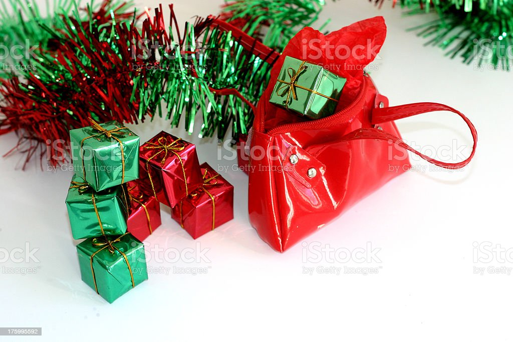 Holiday budget royalty-free stock photo