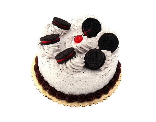festliche kuchen 3 - oreo torte ohne backen stock-fotos und bilder
