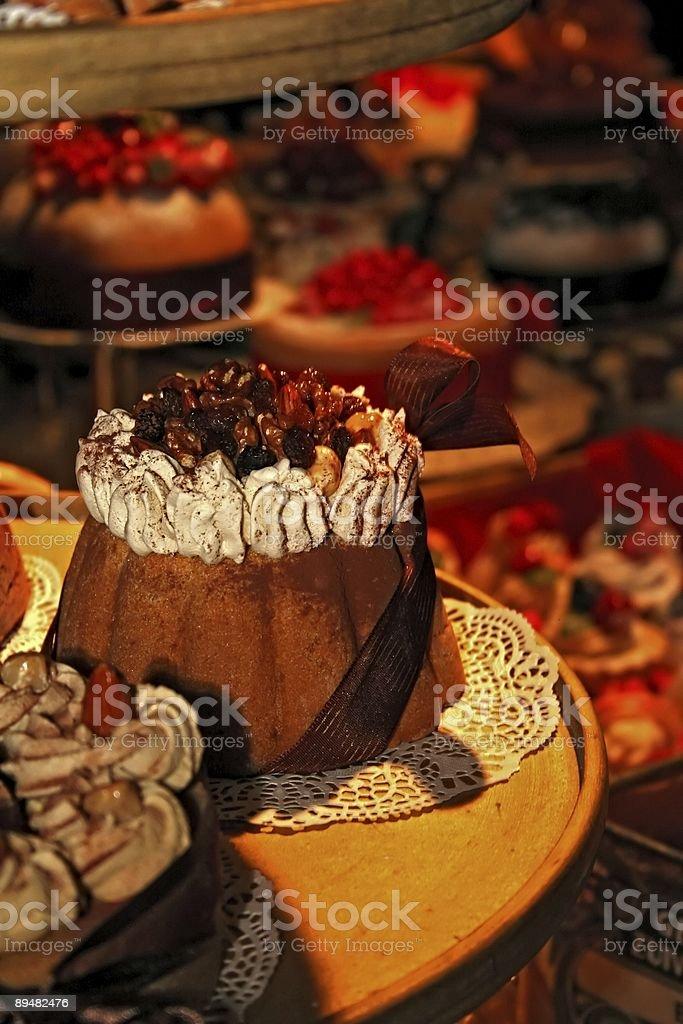 Holiday cake royalty-free stock photo