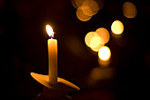 istock holiday candlelight service or memorial vigil 157187128