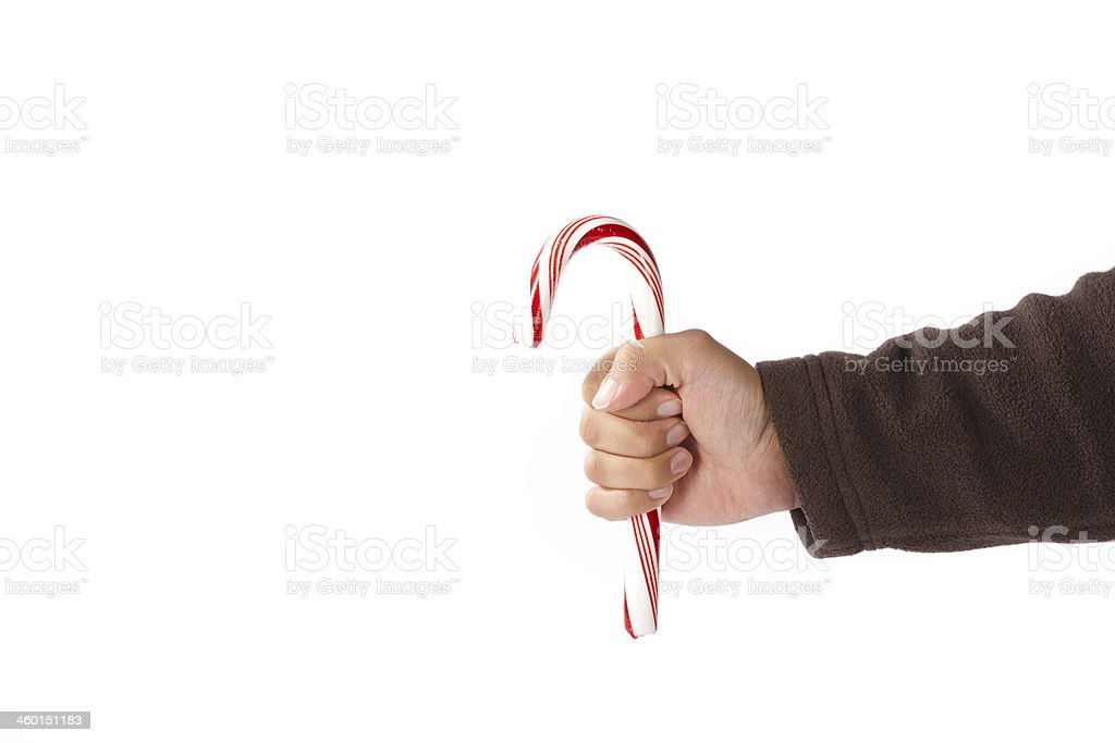 Holiday Candy Cane stock photo