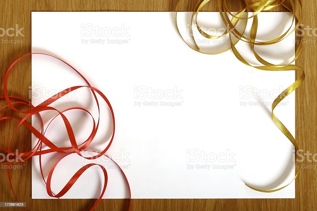 Holiday card design royalty-free stock photo