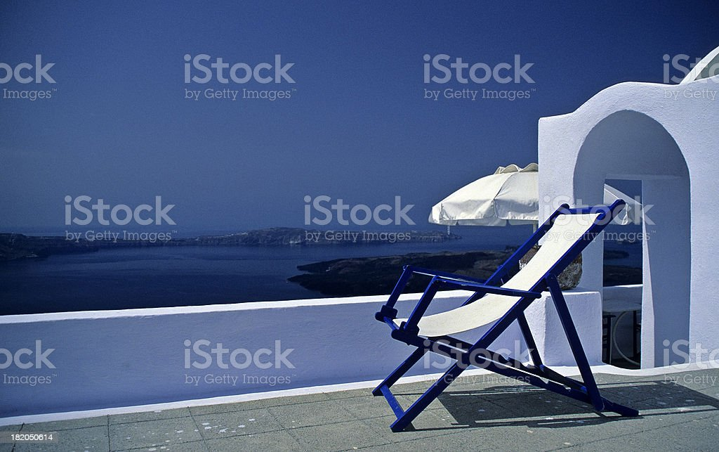 Holiday Chair royalty-free stock photo