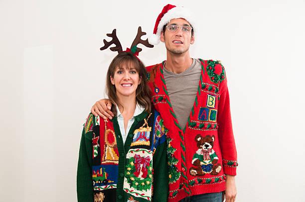 espíritu navideño. - ironía fotografías e imágenes de stock