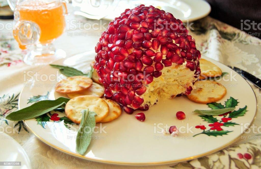 Bola de queijo de férias - foto de acervo