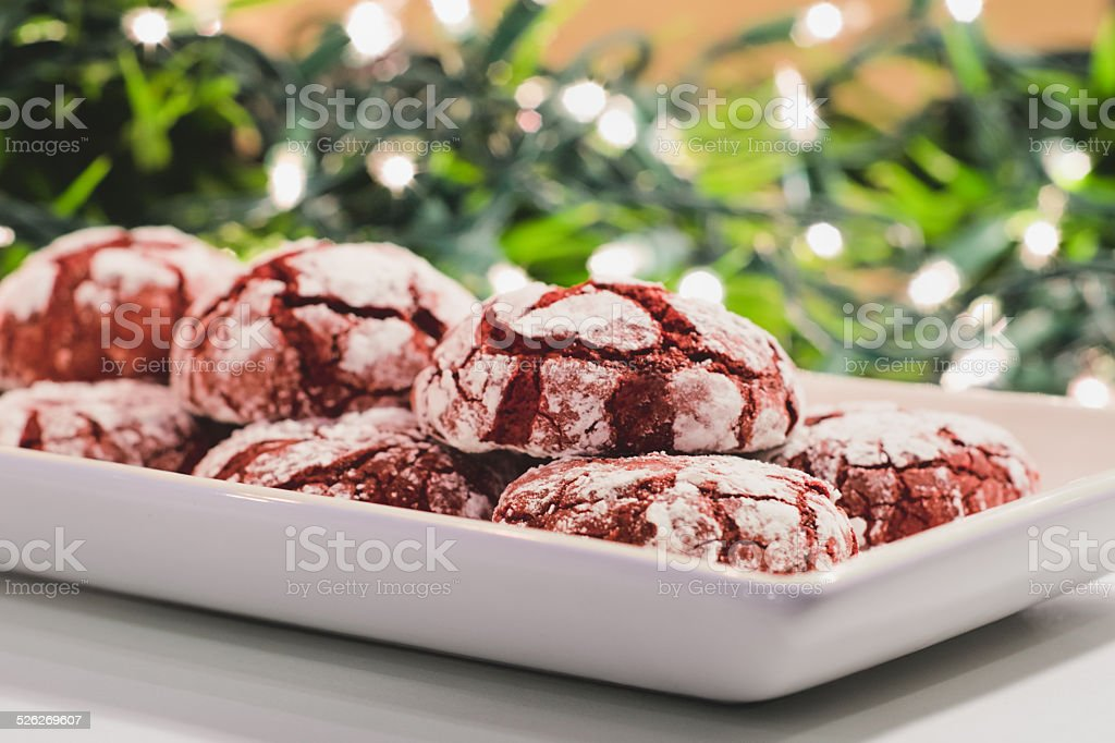 Holiday Cookies stock photo