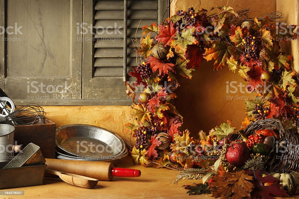 Holiday Cooking royalty-free stock photo