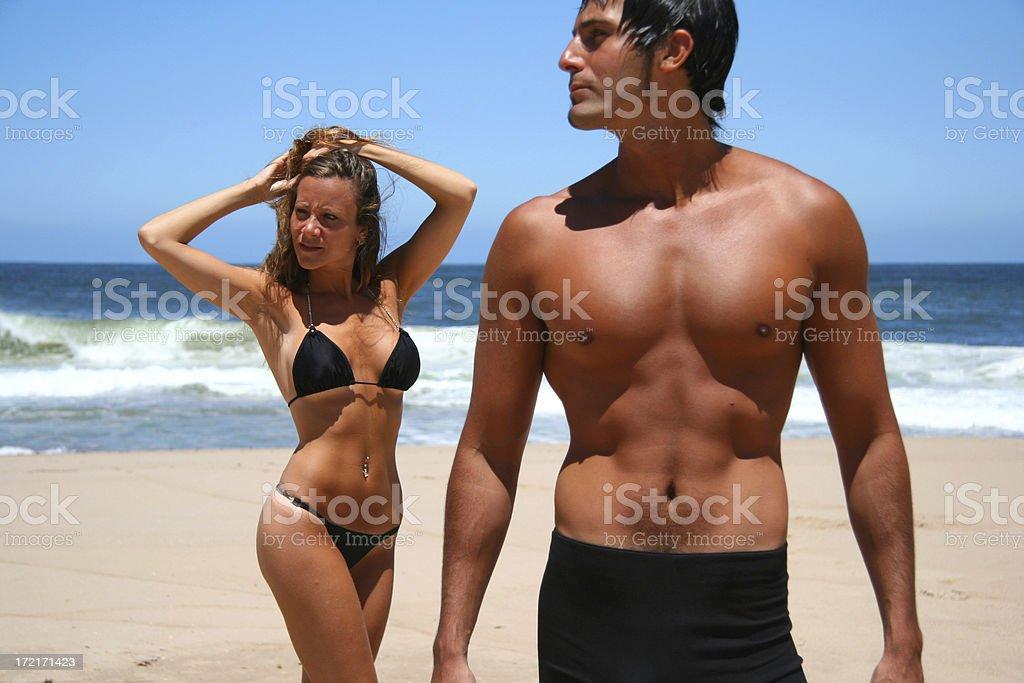 Holiday Couple royalty-free stock photo