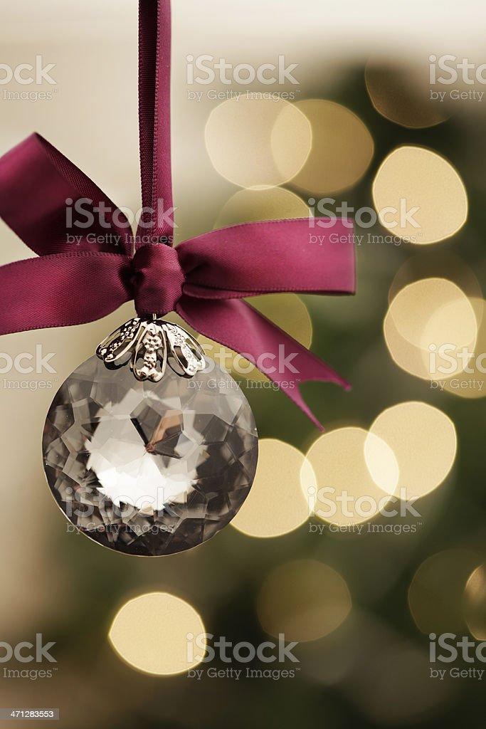 Holiday Crystal royalty-free stock photo