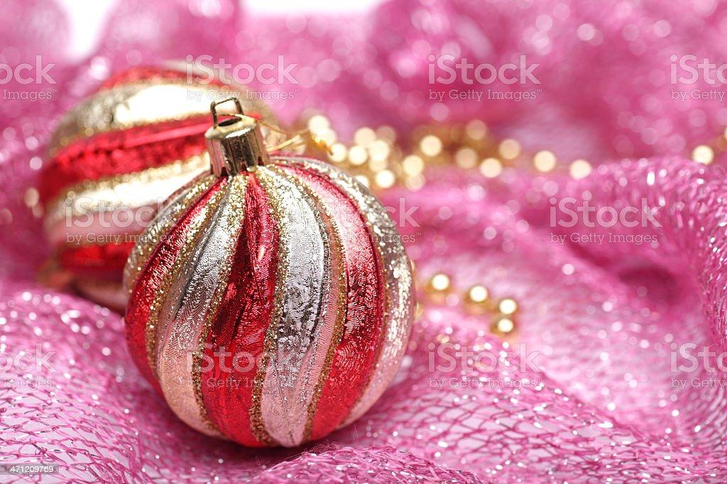 Holiday decorations. Christmas royalty-free stock photo