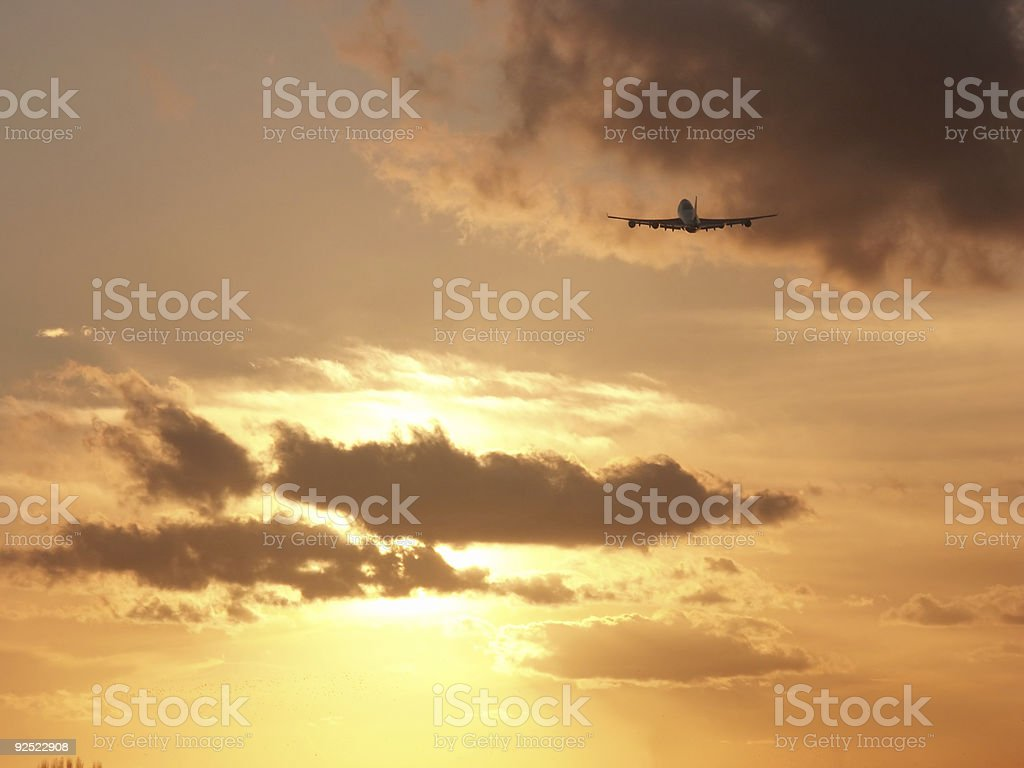 Holiday departure royalty-free stock photo
