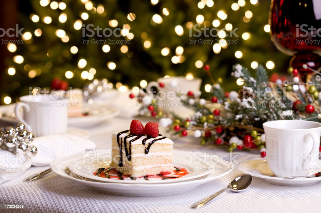 Holiday Dining (XXL) stock photo