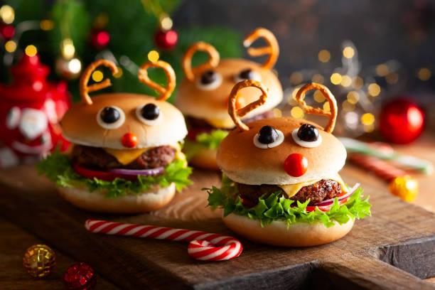 weihnachtsessen - weihnachtsessen ideen stock-fotos und bilder