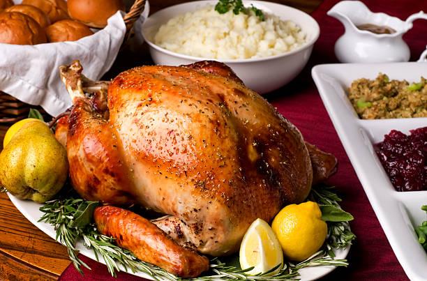 świąteczny obiad - turkey zdjęcia i obrazy z banku zdjęć