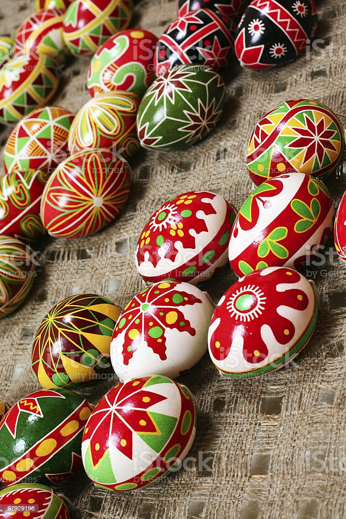Holiday easter egg royalty-free stock photo