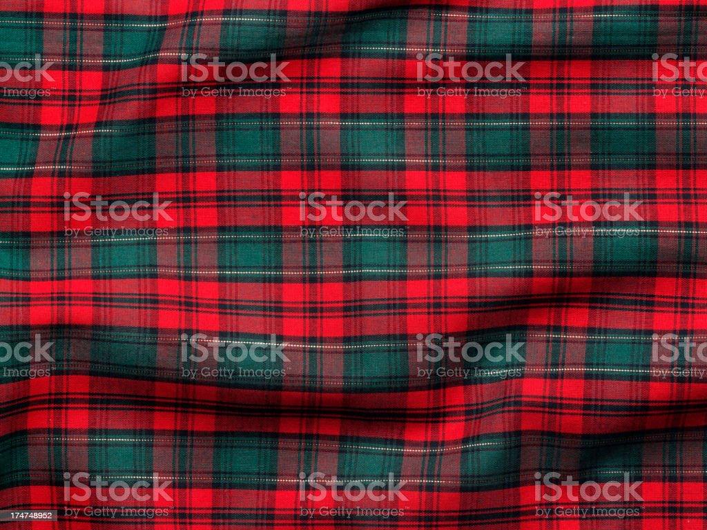 Holiday Fabric Background royalty-free stock photo