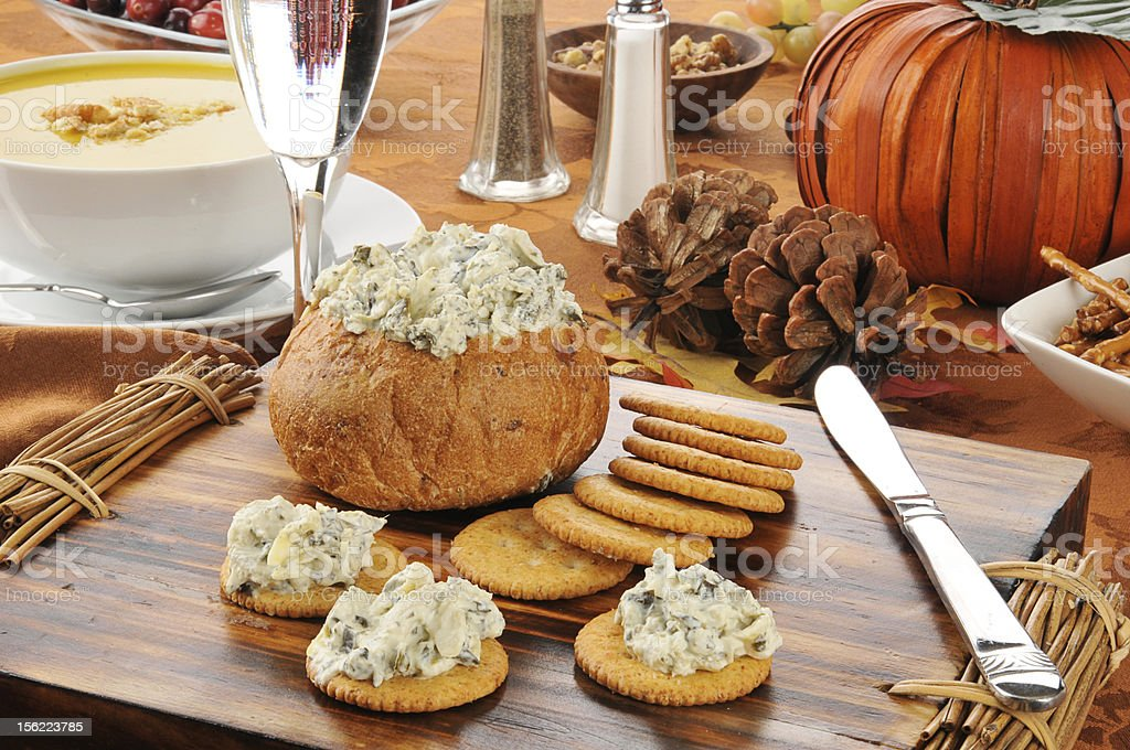 Holiday foods stock photo