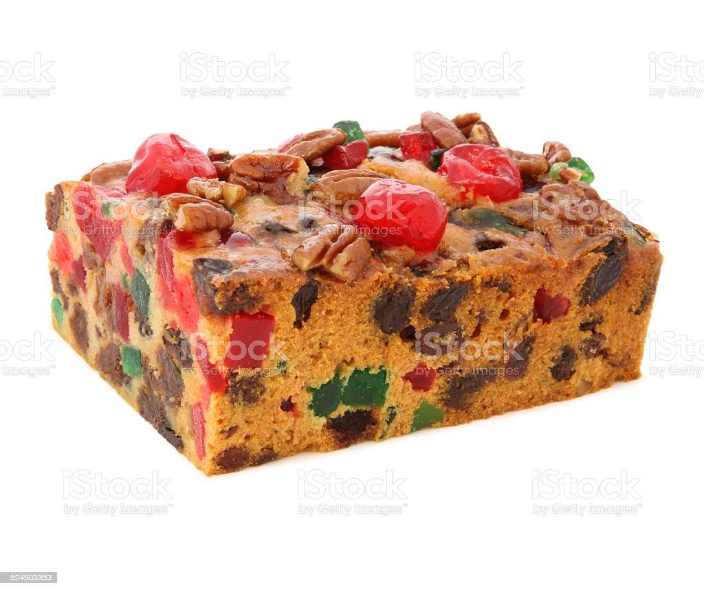 Holiday Fruit Cake stock photo