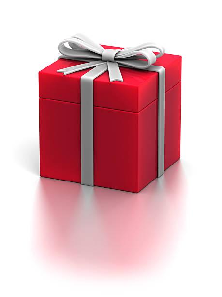 Holiday Gift Box stock photo