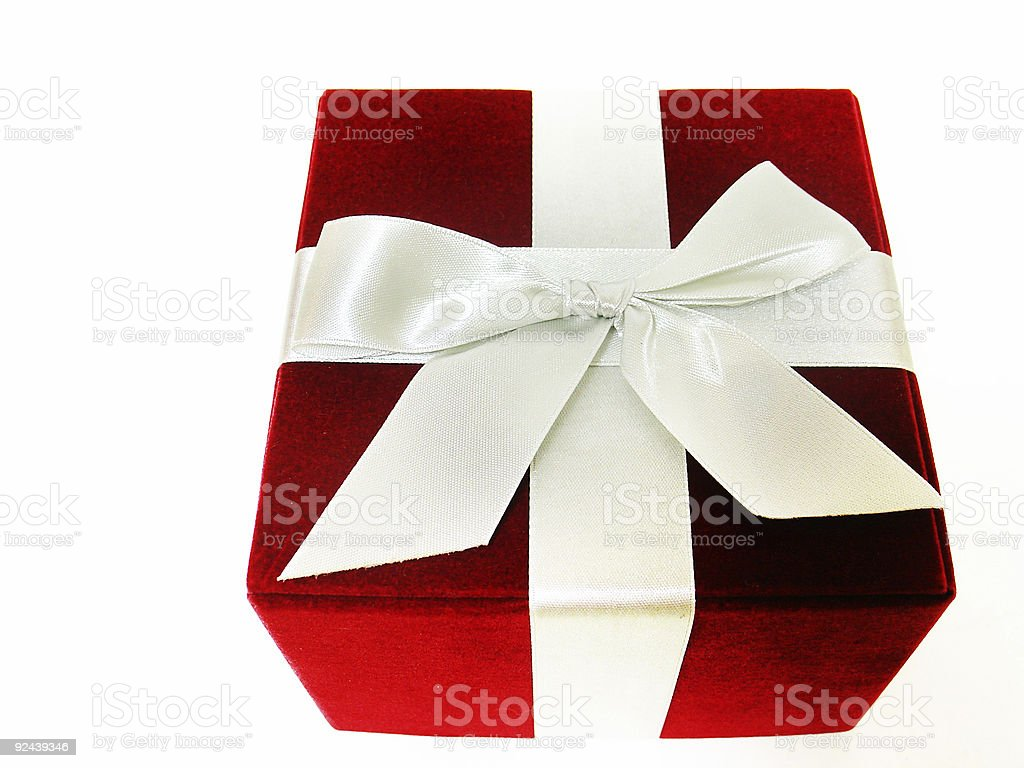 holiday gift box royalty-free stock photo