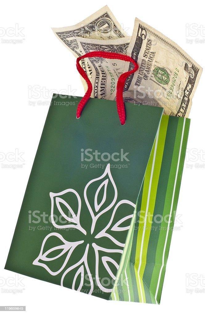 Holiday Gift Budget royalty-free stock photo
