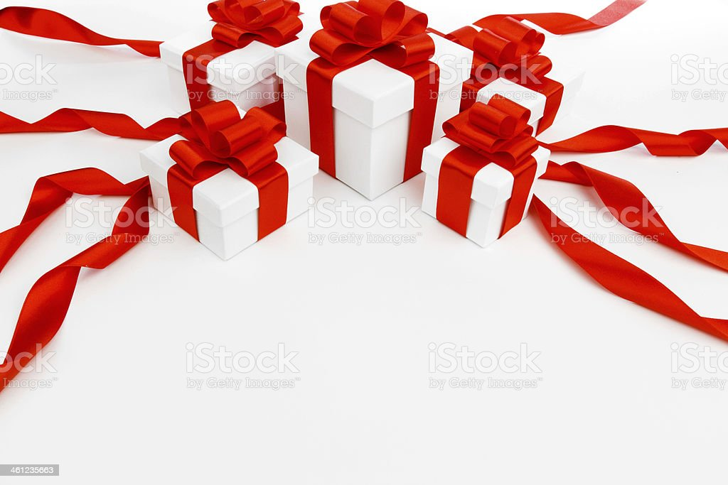 Holiday gifts royalty-free stock photo