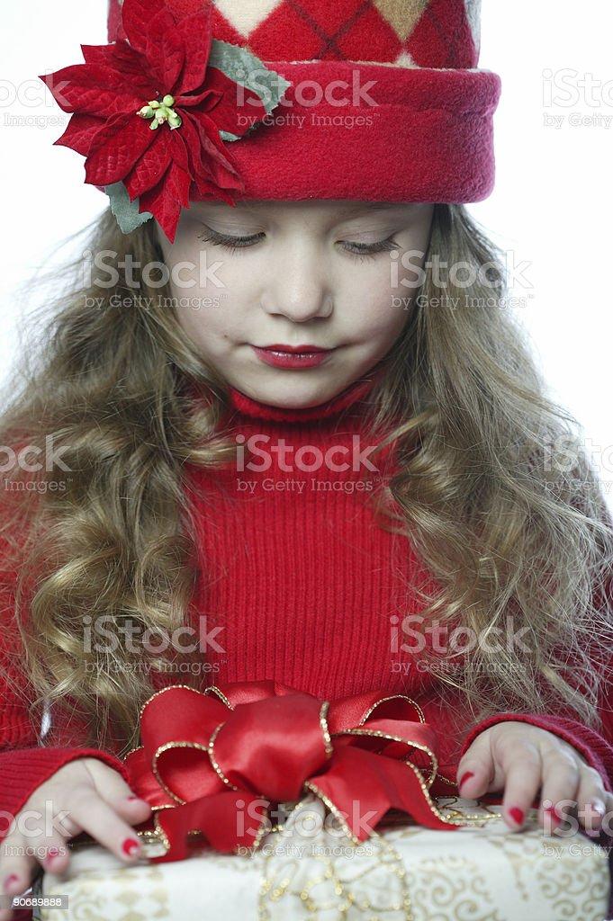 Holiday Girl 0005 royalty-free stock photo