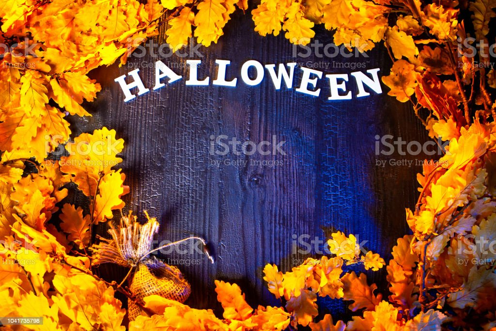 Holiday Halloween. Autumn holiday. Decoration for the holiday...