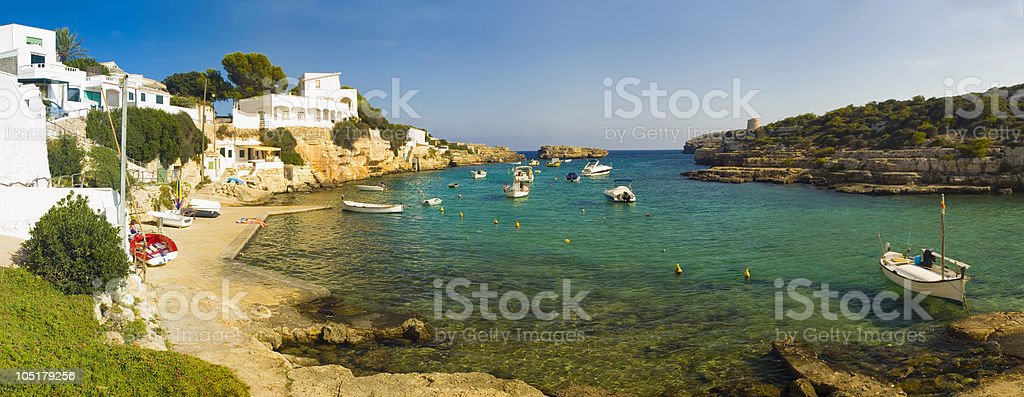 Holiday harbour. stock photo