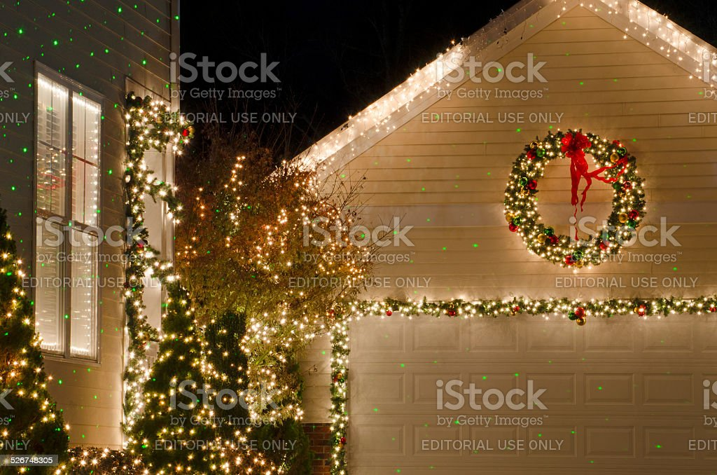 Holiday Home Decorations stock photo