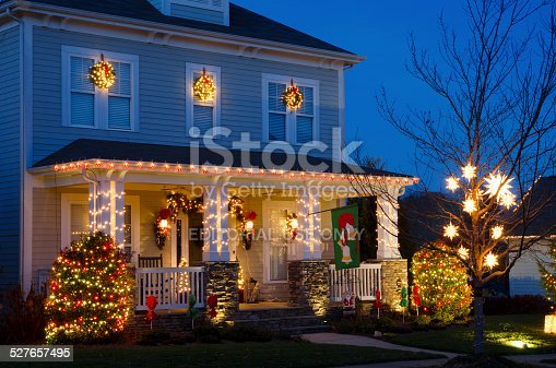 istock Holiday Home Decorations 527657495