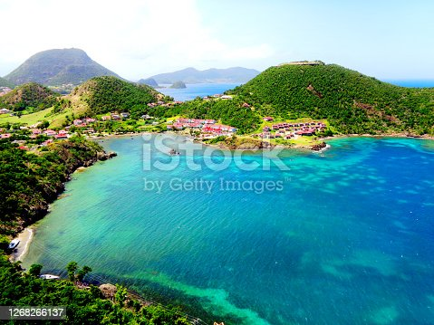 Guadeloupe is a French island in the Caribbean with magnificent beaches, a tropical forest and a volcano. Tourists also appreciate day excursions on the nearby islands. The