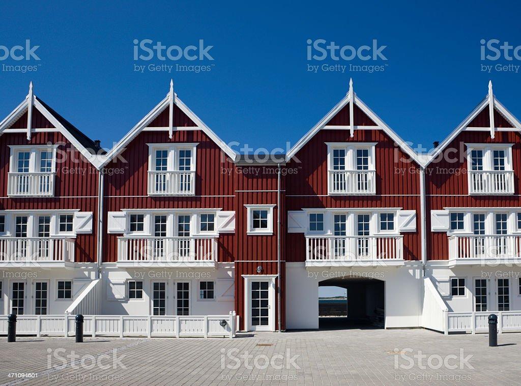 Holiday Homes royalty-free stock photo