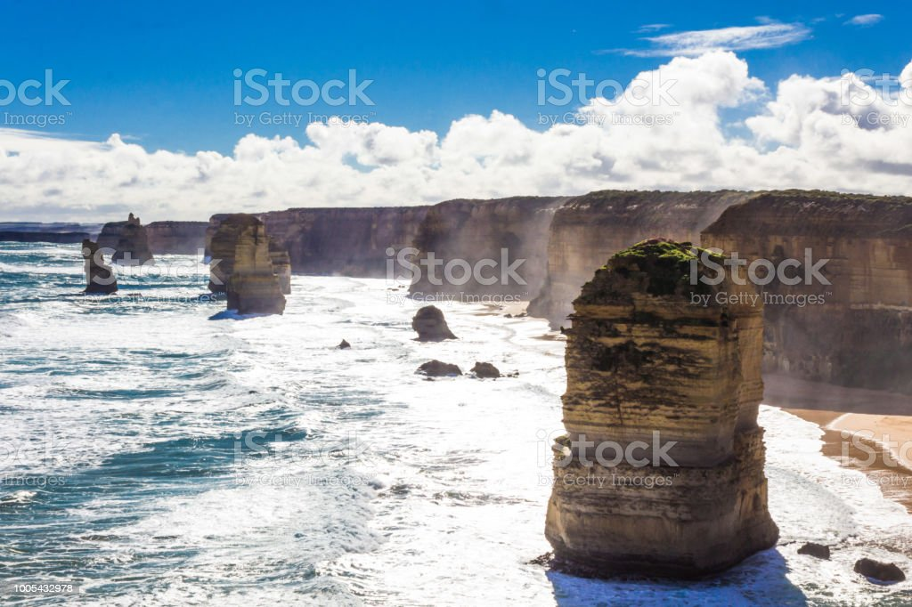 Holiday in Australia - The Port Campbell National Park is a national park stock photo