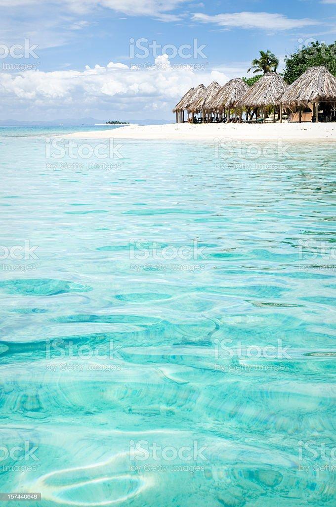 Holiday Island Destination stock photo